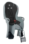 Kindersitz Hamax Kiss grau/schwarz Befestigung Rahmenrohr
