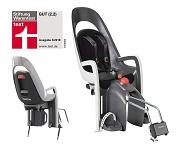 Kindersitz Hamax Caress grau/weiß/schwarz, Befestig. Rahmenrohr