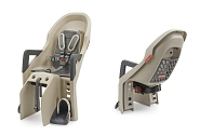 Kindersitz Polisport Guppy Maxi CFS creme/grau, Befestigung Gepäckträger
