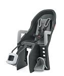 Kindersitz Polisport Guppy Maxi+ FF dunkelgrau/silber, Befestig. Rahmenrohr