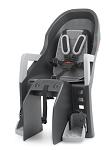 Kindersitz Polisport Guppy Maxi CFS dunkelgrau/silber,Befestig. Gepäckträger