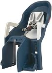 Kindersitz Polisport Guppy Maxi CFS jeans/cream, Befestigung Gepäckträger