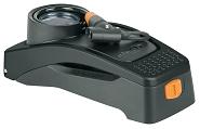 Fußtretpumpe SKS Airstep DIGI sw, mit Digitalmanometer AV/DV/SV