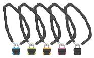 Vorhangkettenschloss Onguard Neon 8242 1200xØ6mm, Ø 8mm, farbl. sort. VE6