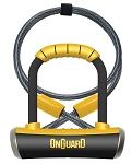Bügelschloss Onguard Pitbull Mini DT8008 90 x 140mm, Ø 14mm, mit Seil und Halter