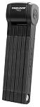 Faltschloss Trelock Trigo mit Halter FS 380/85, schwarz,m.Halter ZF234 X-Move