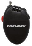 Kabel-Zahlenschloss Trelock 75cm,Ø1,6mm RK 75 Pocket,herausziehb.sw,ohne Halt.