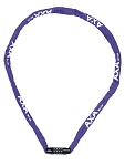 Kettenschloss Axa Rigid RCC 120 Länge 120cm,3,5x3,5 violett