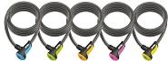 Spiralkabelschloss Onguard Neon 8156 180cm, Ø 12mm, farbl. sortiert
