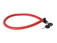 Zahlen-Kabelschloss Trelock 60cm, Ø 6mm KS 106/60/6,rot,ohne Halter