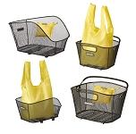 Shoppertasche Basil Keep gelb, faltbar, geeignet für Icon/Bold