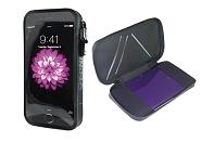 Smartphonetasche T-One Shell Nylon, schwarz, 150x79x10 mm