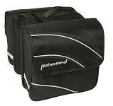 """Doppeltasche Haberland Kim S 20"""" schwarz, 24x24x8,5cm, 10 ltr"""