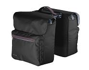 Racktime System Doppeltasche Ture schwarz, inkl. Snapit Adapter