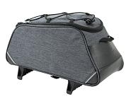 Gepäckträgertasche Norco Ramsey grau, 34x17x16cm, mit TopKlip