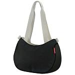 Hand-Tasche KLICKfix Style Bag schwarz, 31x22x11cm, ohne Lenkeradapter