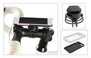 Smartphone-Halter Zefal Z Console full kit für iPhone X 143,6x70,9x7,7mm