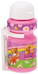 Trinkflasche Filly Unicorn 300ml mit Halter, violett, Kappe weiß