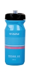 Trinkflasche Zefal Sense M65 650ml/22oz Höhe 193mm cyan bl(pink/weiß)