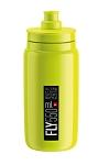 Trinkflasche Elite Fly 550ml, gelb fluo/schwarz