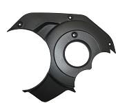 ASTRO BOSCH Designdeckel CX 2016,links,schwarz,Carbon Rahmen