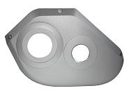 Designdeckel BOSCH links ENA 2016,silver matt f.BOSCH Motor Gen2