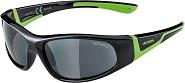 Sonnenbrille Alpina Flexxy Junior Rahmen sw/grün Glas Keramik schwarz S3