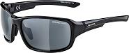 Sonnenbrille Alpina Lyron Rahmen sw/grau Glas schwarz versp.S3
