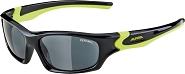 Sonnenbrille Alpina Flexxy Teen Rahmen sw/neon gelb Glas sw versp.S3