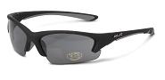 XLC Sonnenbrille Fidschi SG-C08 Rahmen mattschwarz Gläser rauch