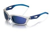 XLC Sonnenbrille Saint-Denis SG-C14 Rahmen grau Gläser blau verspiegelt
