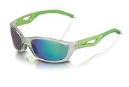 XLC Sonnenbrille Saint-Denise SG-C14 Rahmen grau Gläser grün verspiegelt