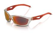 XLC Sonnenbrille Saint-Denise SG-C14 Rahmen grau Gläser rot verspiegelt