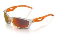 XLC Sonnenbrille Saint-Denise SG-C14 Rahmen grau Gläser orange verspiegelt