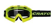 MTB Brille Cratoni C-Rage neongelb glanz, Scheibe transparent