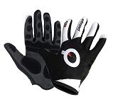 Handschuhe Dark 2.0 Wowow reflektierend grau/gelb  Gr. L