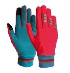 Handschuhe Lucy  Wowow reflekt. rot  Gr. S