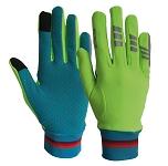 Handschuhe Lucy Wowow reflekt. gelb  Gr. L