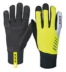 Handschuhe Daylight Wowow gelb/schwarz, reflekt. Elemente Gr. XXL