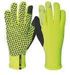 Handschuhe Morning Breeze Wowow gelb mit reflekt. Elementen Gr. S