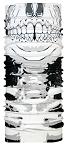 Halstuch P.A.C. Facemask aus Microfaser Facemask Skull 8810-217