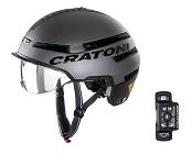 Fahrradhelm Cratoni Smartride (Pedelec) Gr. S/M (54-58cm) anthrazit matt