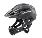 Fahrradhelm Cratoni C-Maniac (Freeride) Gr. S/M (52-56cm) schwarz matt