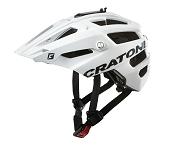 Fahrradhelm Cratoni AllTrack (MTB) Gr. S/M (54-58cm) weiß gummiert