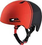 Fahrradhelm Alpina Hackney black-red Gr.51-56