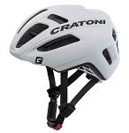 Fahrradhelm Cratoni C-Pro (Performance) Gr. M/L (57-61cm) weiß matt gummiert