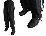 Regenhose Hock Rain Pants GamAs uni/schwarz atmungsaktiv bis 175cm