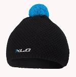 XLC Mütze Strick BH-H04 schwarz/blau