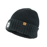 Mütze SealSkinz LED Roll Cuff schwarz Gr.S/M (55-57cm)