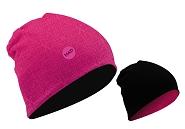 Beanie Had Merino reversible Apollon Pink /Black Eyes HA637-1031